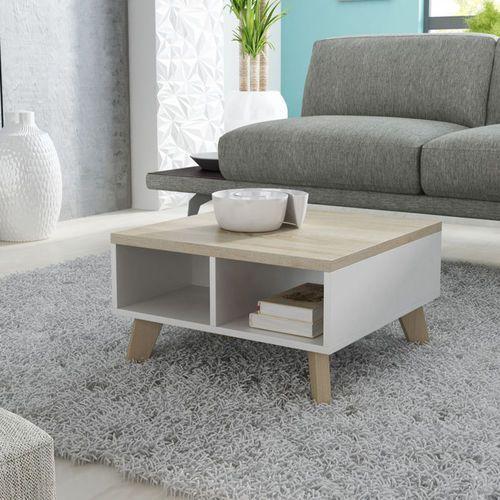 High glossy furniture Livorno stolik kawowy 60 w stylu skandynawskim