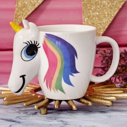 Kubek jednorożec - zmieniający kolor - color changing unicorn mug marki Mygiftdna