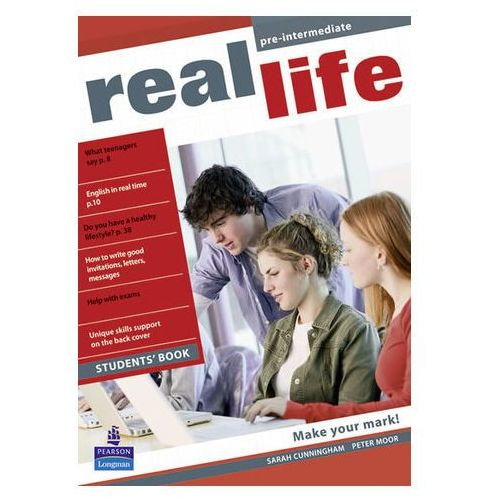 Real Life Global Pre-intermediate Students Book, Pearson Education Limited
