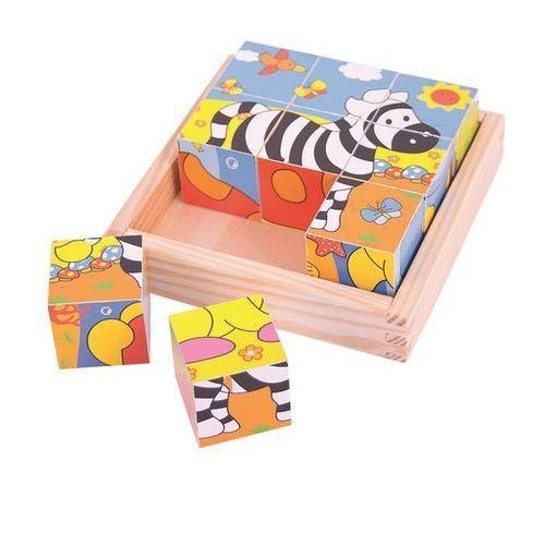 Puzzle z Klocków Safari (0691621195123)