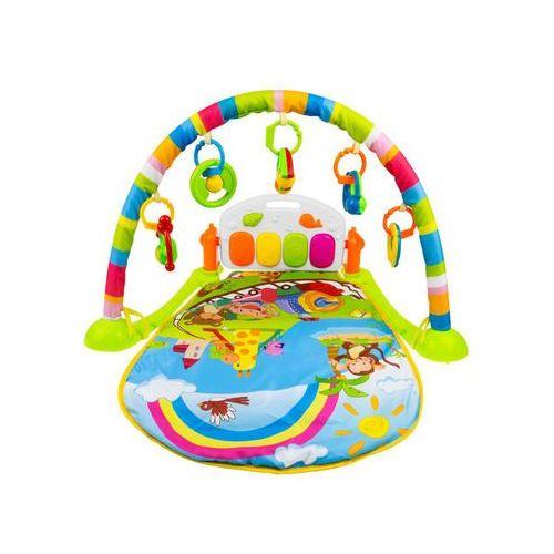 Ibaby Interaktywna mata edukacyjna z zabawkami + pianino bm6016-2