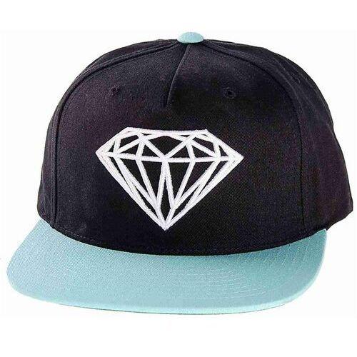 Czapka z daszkiem  - brilliant black diamond blue (bdbl) rozmiar: os marki Diamond