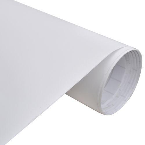 naklejka samochodowa mat biały 500 x 152 cm wyprodukowany przez Vidaxl
