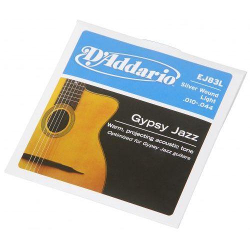 ej-83l struny do gitary akustycznej gypsy jazz 10-44 marki D′addario