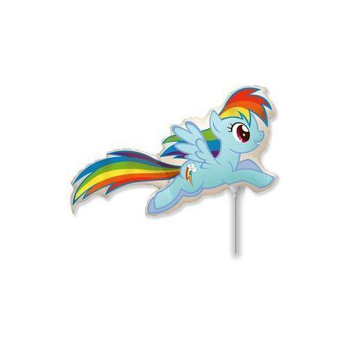 Twojestroje.pl Balon foliowy rainbow dash my little pony 14'' 1szt (8435102320831)