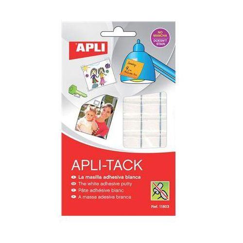 Masa mocująca APLI podzielona 75g biała, AP11803