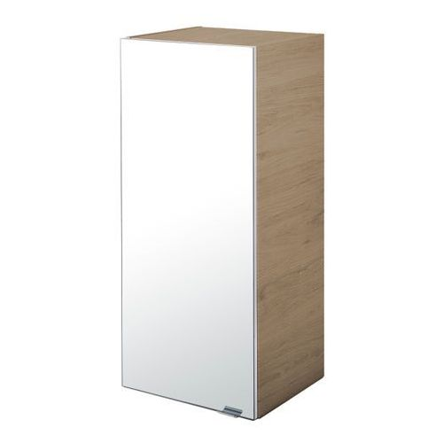 Goodhome Szafka z lustrem imandra 40 x 90 x 36 cm drewno