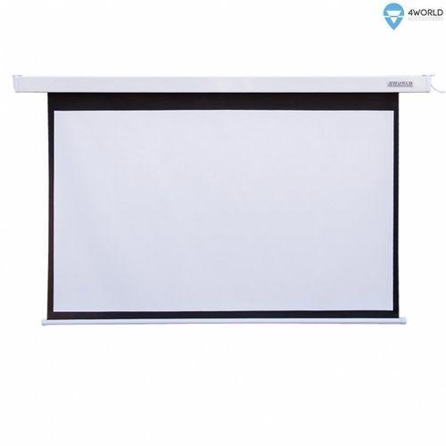 Ekran projekcyjny 4World Matt White 145x110 cm (09458) (5908214361779)