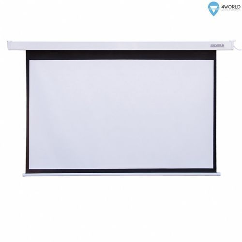 Ekran projekcyjny 4World Matt White 145x110 cm (09458)