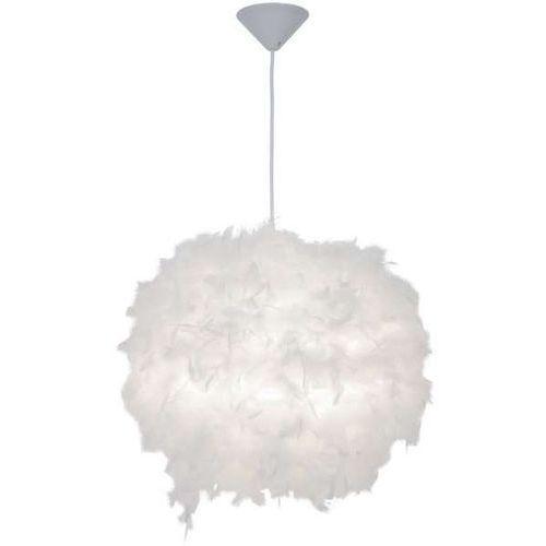 LAMPA wisząca MANITO P110718-D40 Zumaline piórka OPRAWA zwis do pokoju dziecięcego biała (1000000518337)