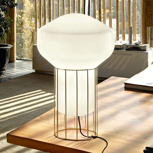 Lampa stołowa aérostat, mosiężna stopa, 33cm marki Fabbian