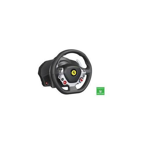 Kierownica tx ferrari 458 italia dla xbox one a pc (4460104) czarny marki Thrustmaster