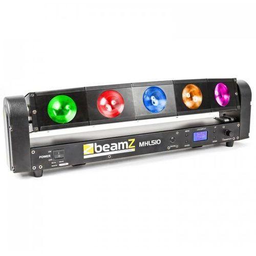 Mhl510 color sweeper efekt świetlny 5 x 10w quad cree led marki Beamz