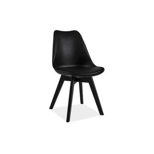 Krzesło kris ii dąb czarny marki Signal meble