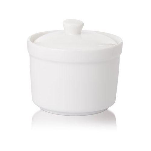 Modermo Cukiernica z pokrywą porcelanowa prima