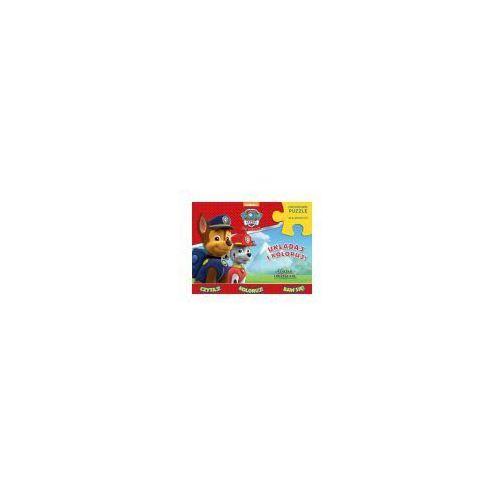 Psi Patrol. Układaj i koloruj (książka + puzzle) - Praca zbiorowa (9788379944972)