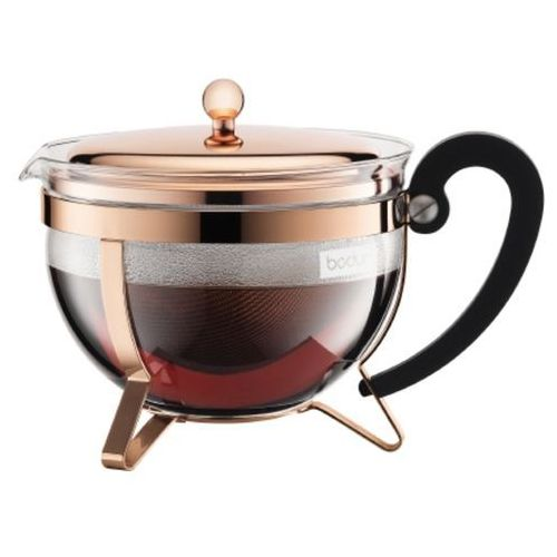 - zaparzacz tłokowy do herbat, miedziany marki Bodum