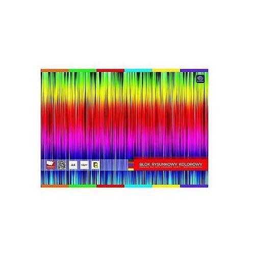 Blok rysunkowy A4 kolorowy Garwolin 20ark.