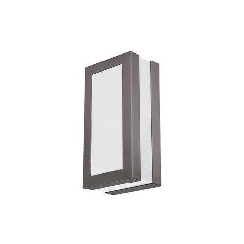 Rabalux Kinkiet zewnętrzny lampa ścienna stuttgart 1x14w e27 ip44 szary 8683 (5998250386836)