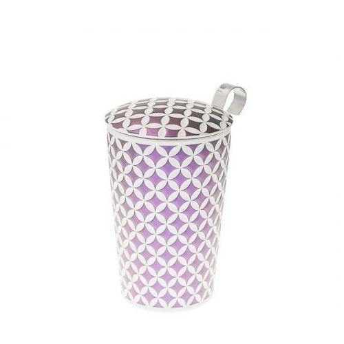 kubek z zaparzaczem teaeve may lin lilac 350 ml marki Eigenart