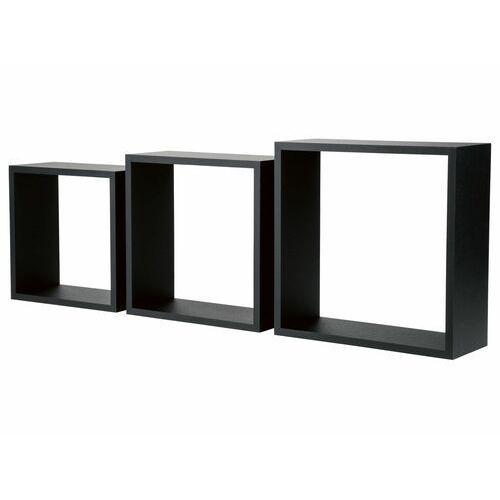 półka kwadratowa, 3 sztuki, 1 zestaw marki Livarnoliving®