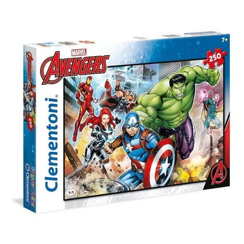 Puzzle 250 el. Superkolor The Avengers (8005125297429)