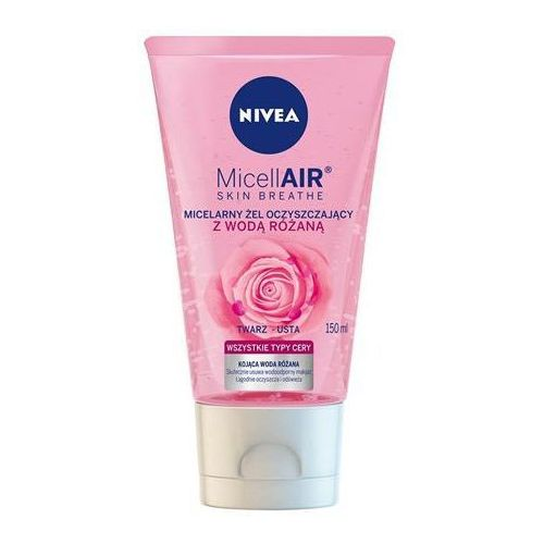 Nivea Micell Air Skin Breathe Micelarny Żel oczyszczający z Wodą Różaną 150ml (5900017065069)