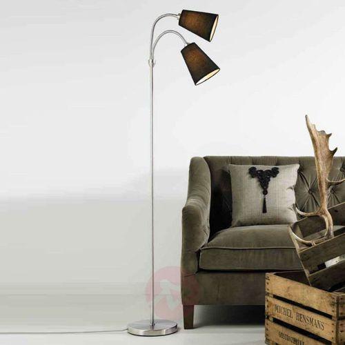 Nordlux LELIO lampa stojąca Czarny, 2-punktowe - Nowoczesny - Obszar wewnętrzny - LELIO - Czas dostawy: od 4-8 dni roboczych (5701581286276)