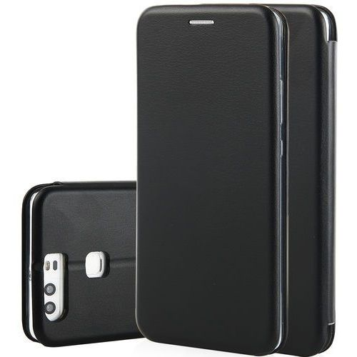 Etui QULT Flip Case Round do Huawei P Smart Czarny (5901646804951)