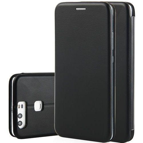 Etui QULT Flip Case Round do Huawei P Smart Czarny, kolor czarny
