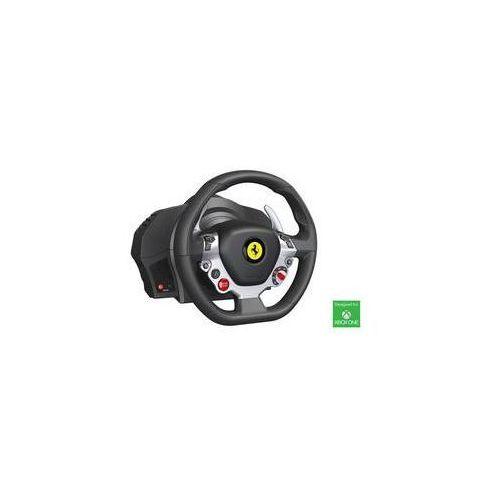 OKAZJA - Kierownica  tx ferrari 458 italia dla xbox one a pc (4460104) czarny marki Thrustmaster