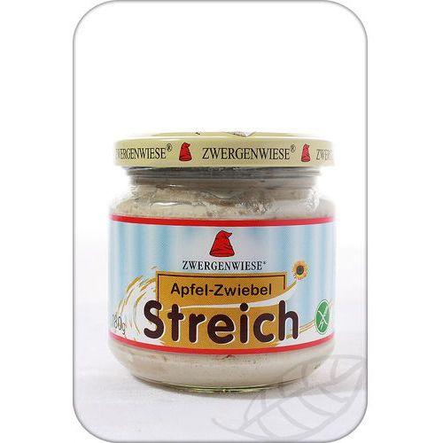 : pasta słonecznikowa z jabłkiem i cebulą bio - 180 g, marki Zwergenwiese