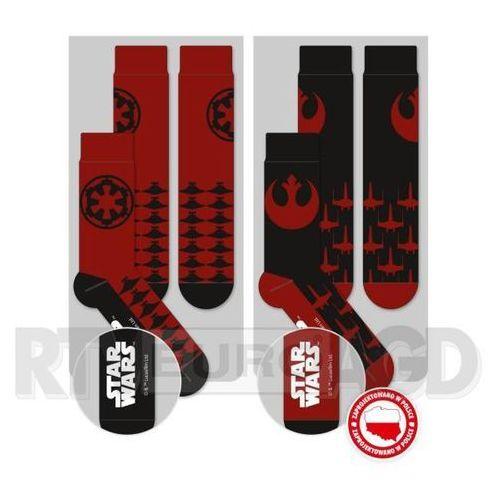 Good Loot Skarpety Star Wars - Imperium and Rebels Logos Fan Socks Set - produkt w magazynie - szybka wysyłka! (5908305214601)