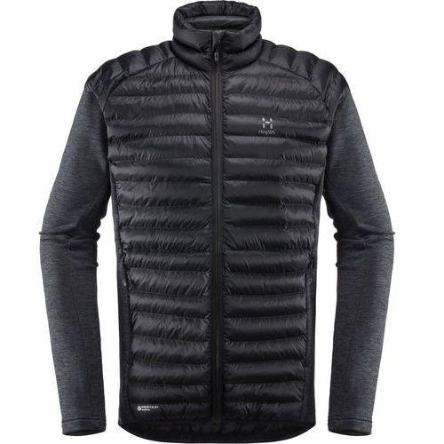 mimic kurtka mężczyźni czarny xxl 2018 kurtki hybrydowe marki Haglöfs