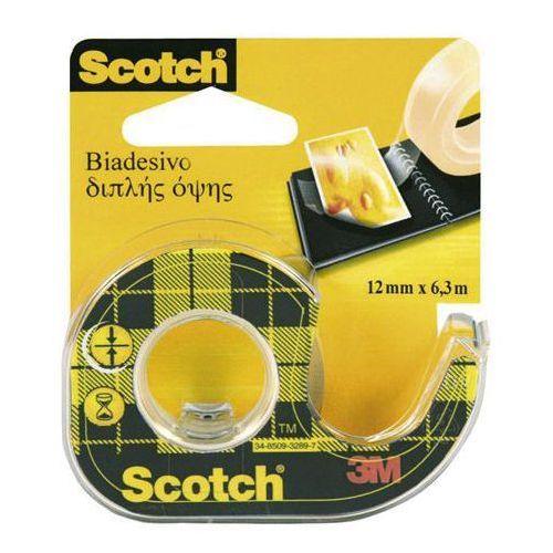 3m scotch Taśma klejąca double sided 12mmx6,3m transparentna 136d