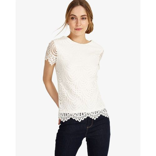 Phase Eight Tessa Lace Top, kolor biały