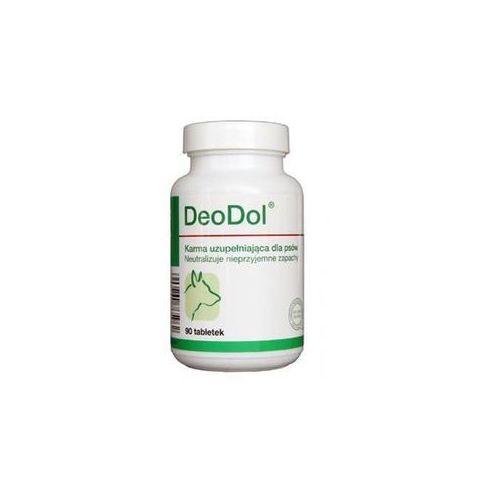 DOLFOS DeoDol - preparat dla psów neutralizujący nieprzyjemne zapachy 90tab. (5906764765962)