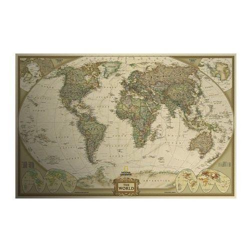 Obraz Mapa Świata retro