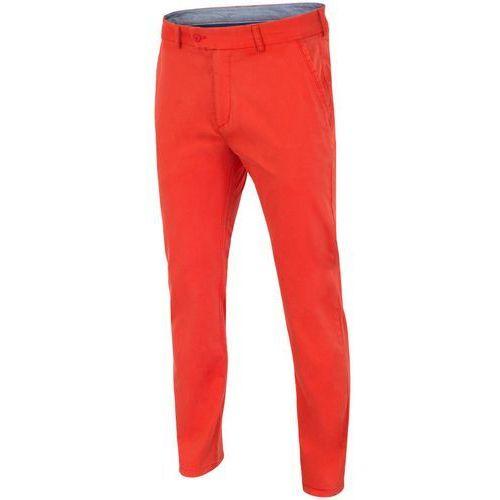[S4L16-SPMC906R] Replika spodni defiladowych męskich Rio 2016 SPMC906R - neonowa czerwień