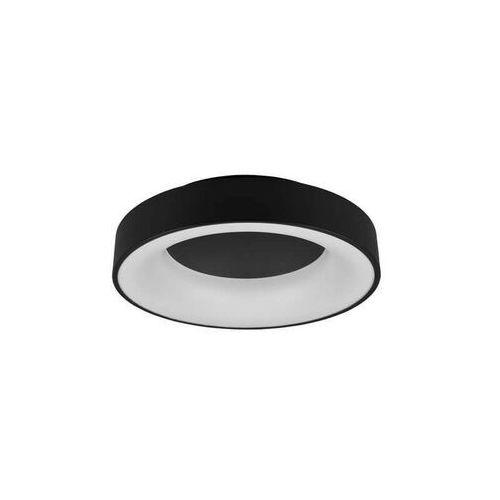 Trio girona 671210132 plafon lampa sufitowa 1x27w led czarny