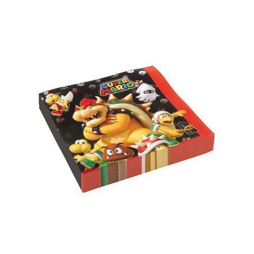 Serwetki urodzinowe Super Mario Bros - 33 cm - 20 szt. (0013051695538)