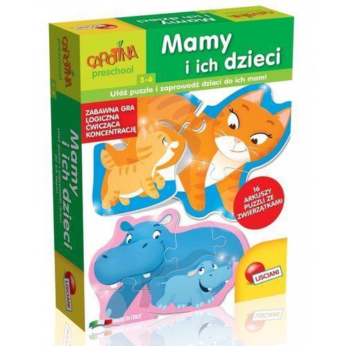 Liscianigiochi Carotina mamy i ich dzieci ułóż puzzle i zaprowadź - jeśli zamówisz do 14:00, wyślemy tego samego dnia. darmowa dostawa, już od 99,99 zł. (8008324061129)