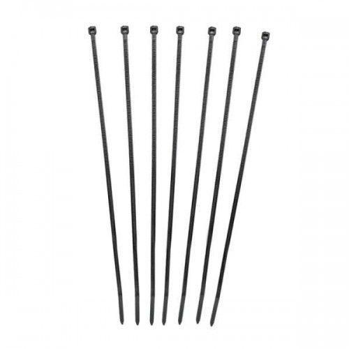 Qoltec opaski zaciskowe   nylon   3.6*300mm   uv
