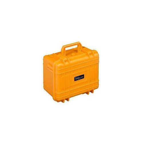 BW Kufer transportowy typ 50 E pomarańczowy, bez wypełnienia