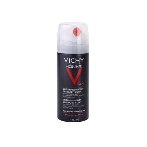 Vichy Homme Deodorant antyprespirant w sprayu 72 godz. (Triple Diffusion Anti Perspirant) 150 ml