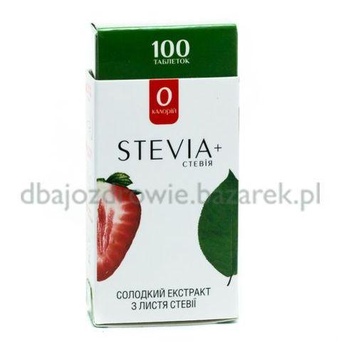 Stewia (), 100 tabletek słodzik naturalny marki Stevia. Najniższe ceny, najlepsze promocje w sklepach, opinie.