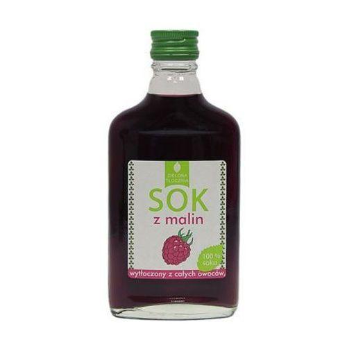 Targroch Sok 100% z malin wytłoczony z całych owoców 200ml zielona tłocznia (5901812776105)