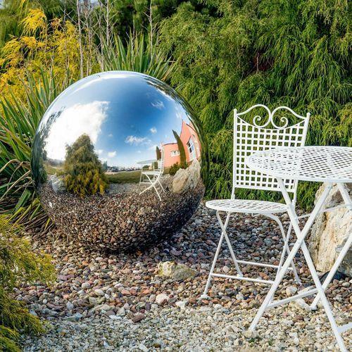 kula ogrodowa-dekoracyjna sava śr. 100cm, o100 cm marki Dekoria