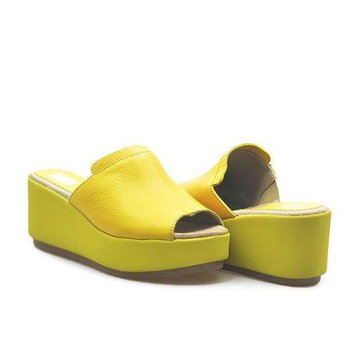 Klapki 0269 feada żółta sm lico, Simen