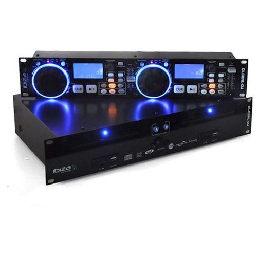 Ibiza Global DJ podwójny odtw.CD 2x USB 2x SD MP3 scratch